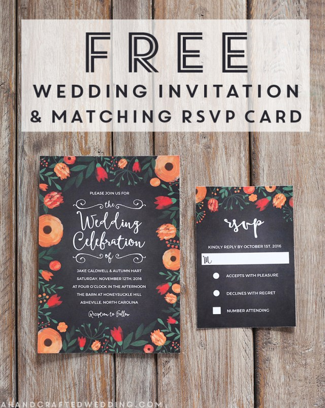 Free Wedding Invite Templates Free Whimsical Wedding Invitation Template Mountain Modern Life
