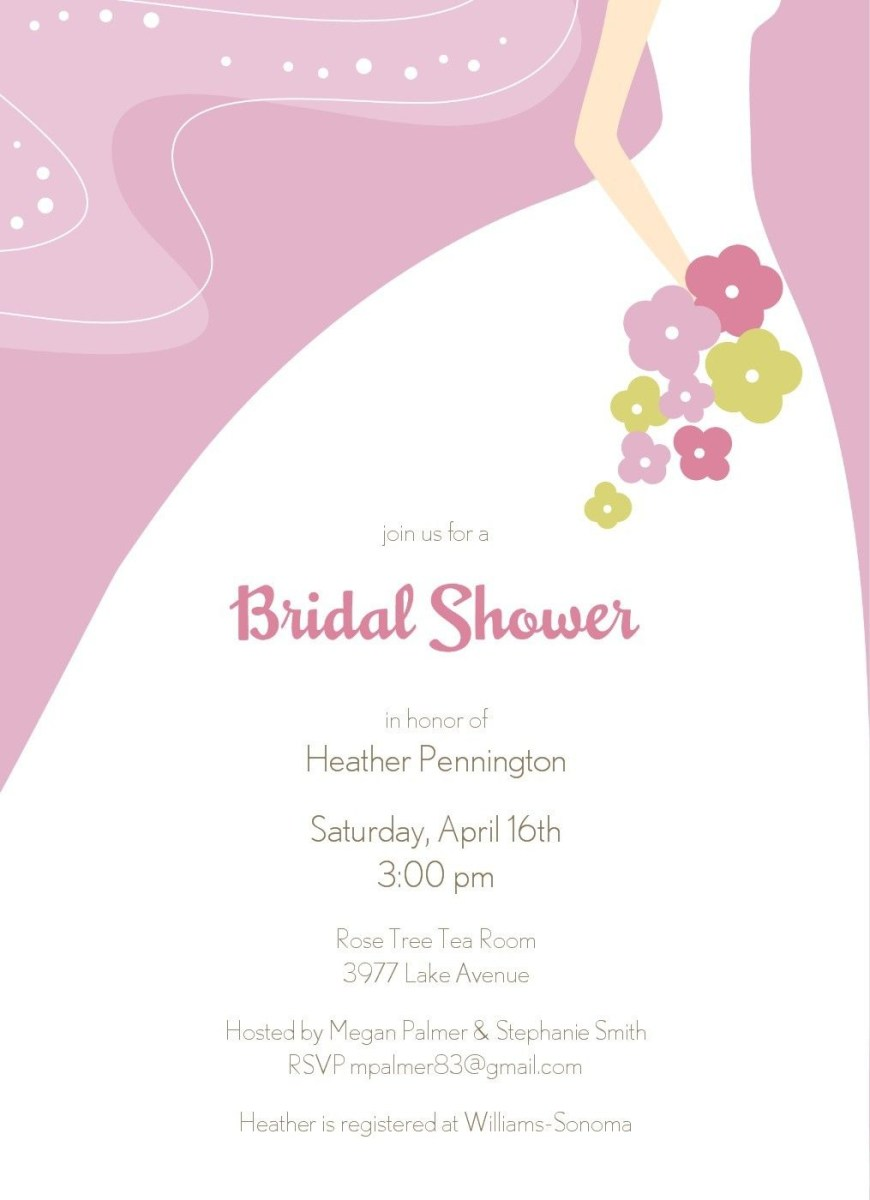 Free Wedding Shower Invitation Templates Free Shower Template Weddding Free Bridal Shower Invitation