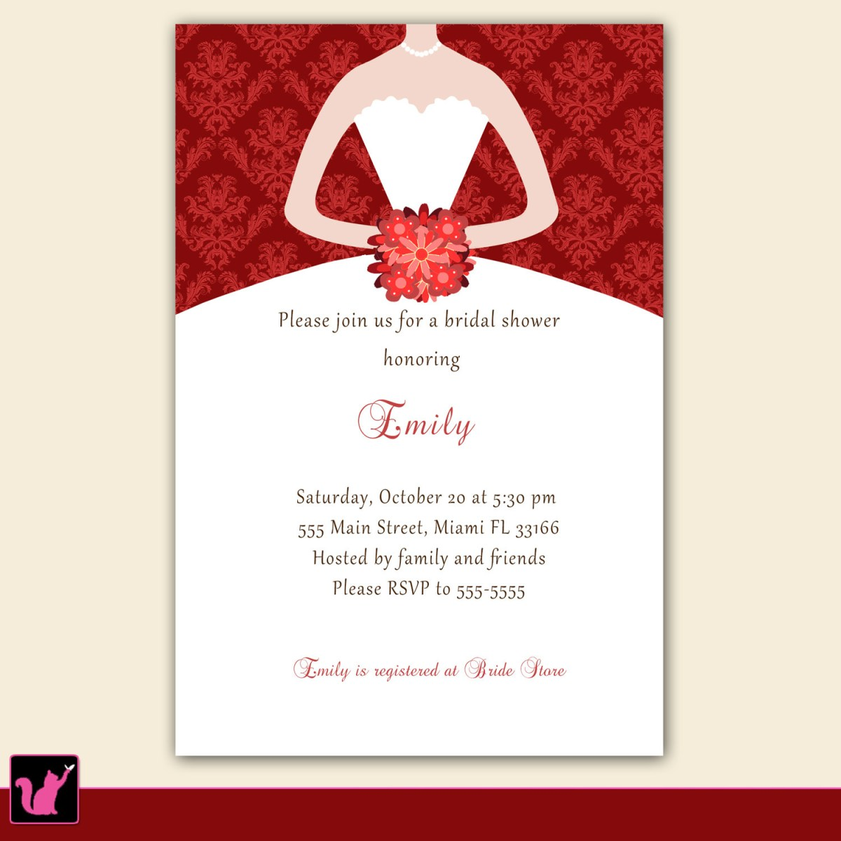 Free Wedding Shower Invitation Templates Photo Free Online Bridal Shower Invitation Image