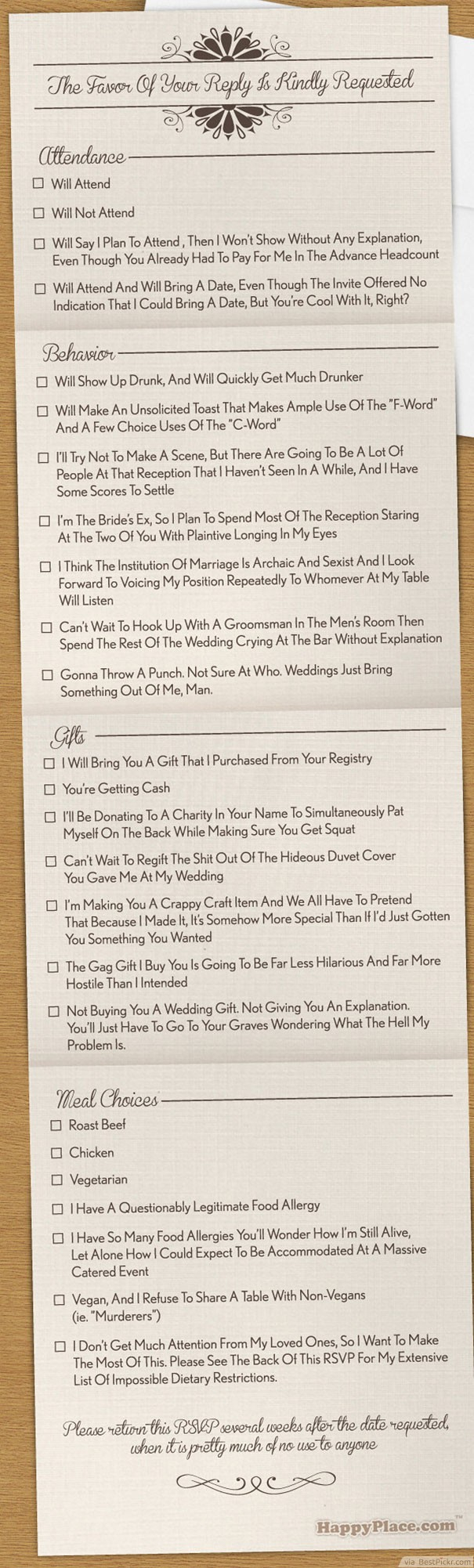 Fun Wedding Invitations 15 Funny Wedding Invitations Cards To Crack Guests Up Bestpickr