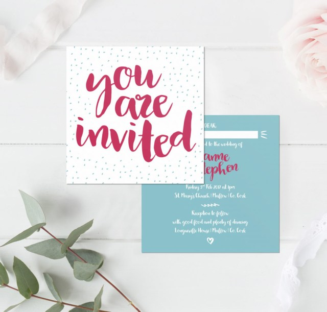 Fun Wedding Invitations Quite Quirky Wedding Stationery Little Ivory