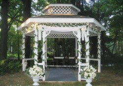 Gazebo Wedding Decorations Outside Gazebo Wedding Decoration Ideas Gazebo Weddingation Nucno