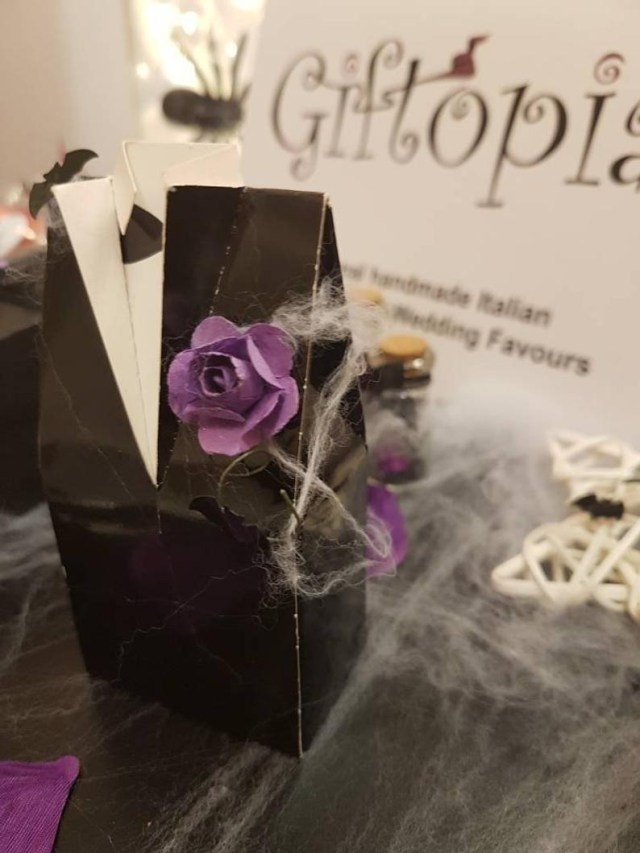 Gothic Wedding Decorations Wedding Favour Gothic Wedding Favours Halloween Favours Tux Etsy