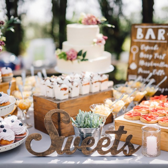 Homemade Decorations For Weddings 10 Dessert Table Ideas To Make Your Wedding Reception Unforgettable