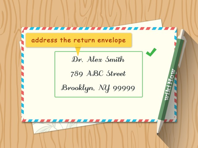 How Do You Address Wedding Invitations How To Address Wedding Invitations With Pictures Wikihow