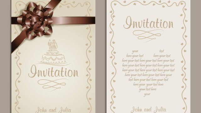 Images Of Wedding Invitations Choosing Your Wedding Invitations The Courier