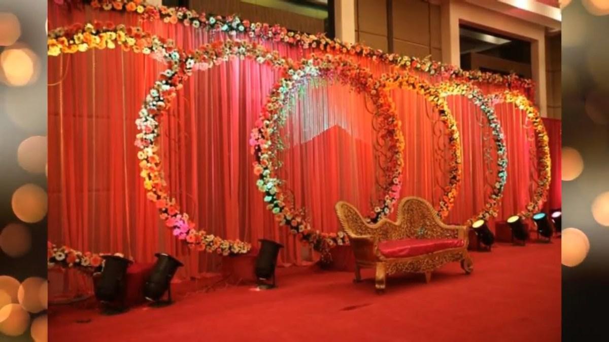 Indian Wedding Flower Decoration Pictures Best Stage Decoration Ideas For Indian Wedding Stage Decoration
