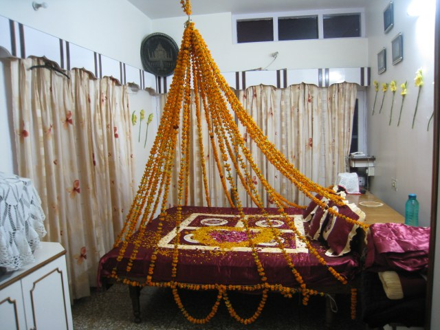 Indian Wedding Flower Decoration Pictures Fileflower Bed Indian Wedding Wikimedia Commons