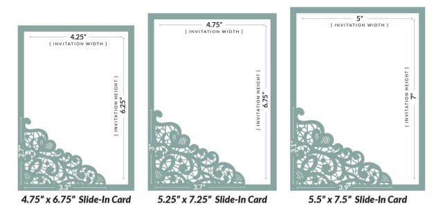 Laser Cut Wedding Invitations Diy How To Diy Laser Wedding Invitations With Slide In Cards Cards
