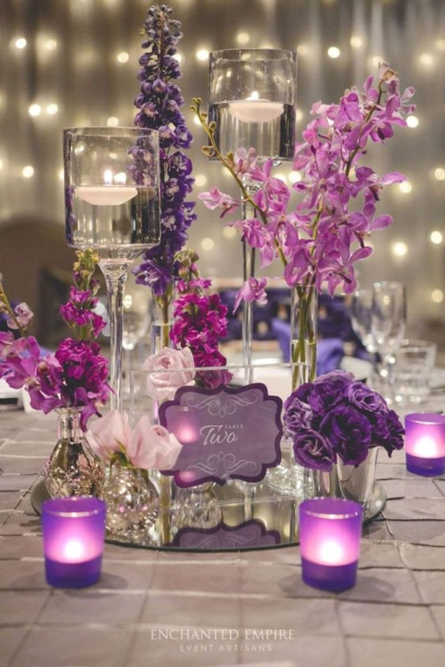 Lavender Wedding Decorations Elegant Purple And Lavender Wedding Decorations Wedding Ideas