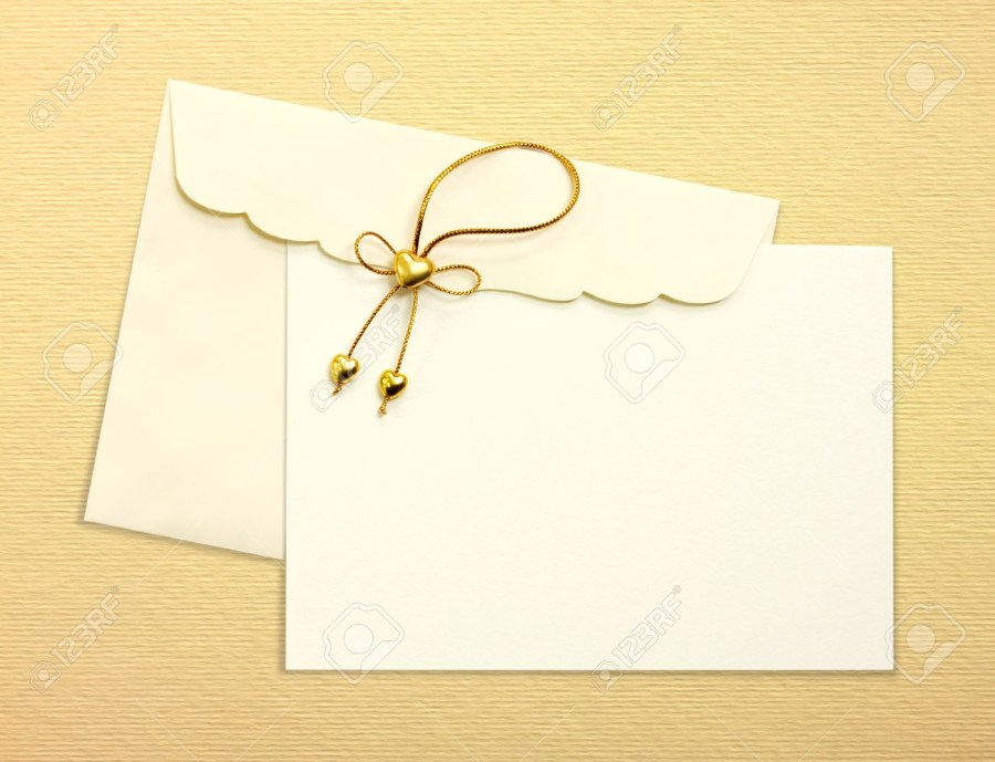 Mailing Wedding Invitations Envelope And Mail Wedding Invitations Golden Heart On Yellow