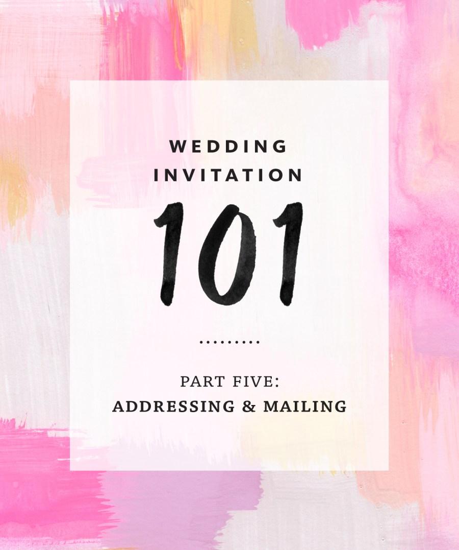 Mailing Wedding Invitations Invitation Addressing And Mailing