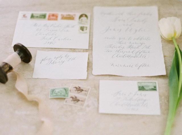 Mailing Wedding Invitations Wedding Invitations Postage Pointers Unveiled Zola