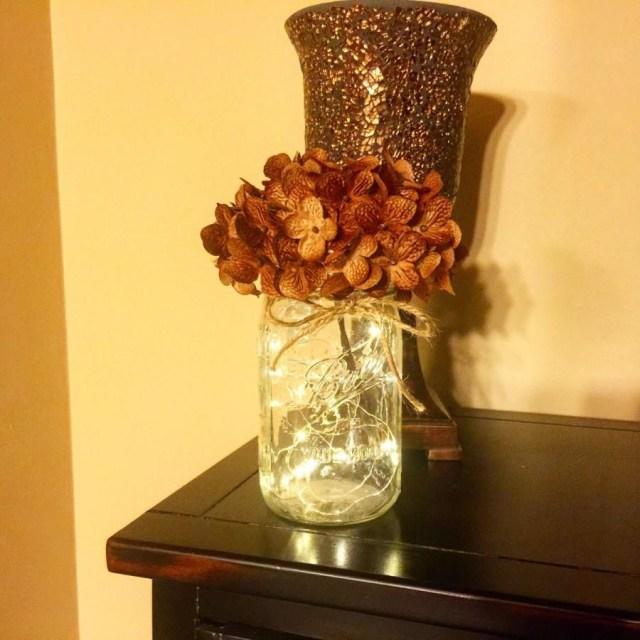 Mason Jar Decorations For A Wedding Mason Jars Mason Jar With Lights Firefly Lights Mason Jar Decor