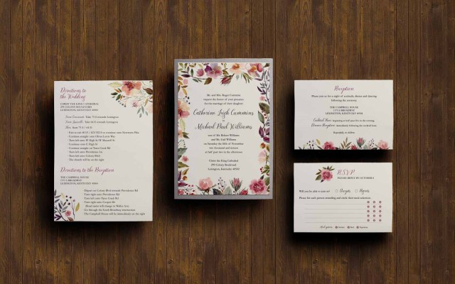 Michaels Wedding Invites Catherine Michael A Project Blustery Day Design
