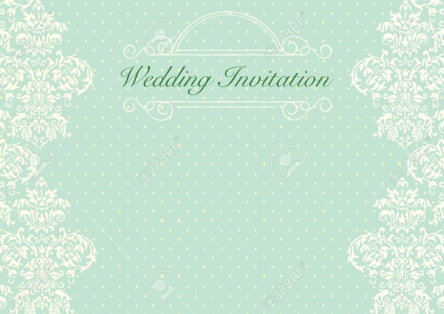 Mint Green Wedding Invitations Mint Green Wedding Invitation Background Royalty Free Cliparts