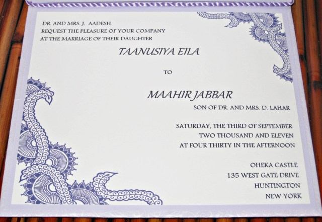 Muslim Wedding Invitations Muslim Wedding Invitation Templates Lovely Surprise Wedding