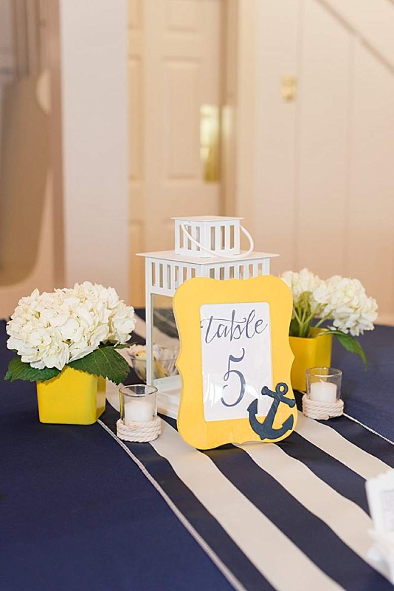 Nautical Wedding Decor Summer Nautical Wedding The Budget Savvy Bride