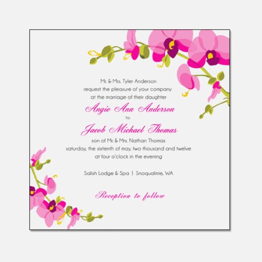 Orchid Wedding Invitations Orchid Wedding Invitations Luxury Orchid Wedding Invitations Orchid