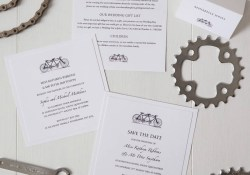 Order Wedding Invitations Tandem Bicycle Wedding Invitation Twenty Seven