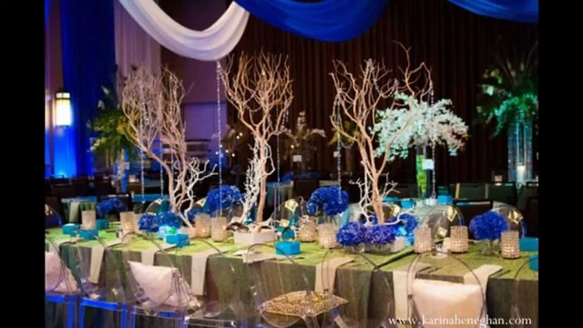 Peacock Wedding Decor Peacock Themed Wedding Decorations Ideas Youtube