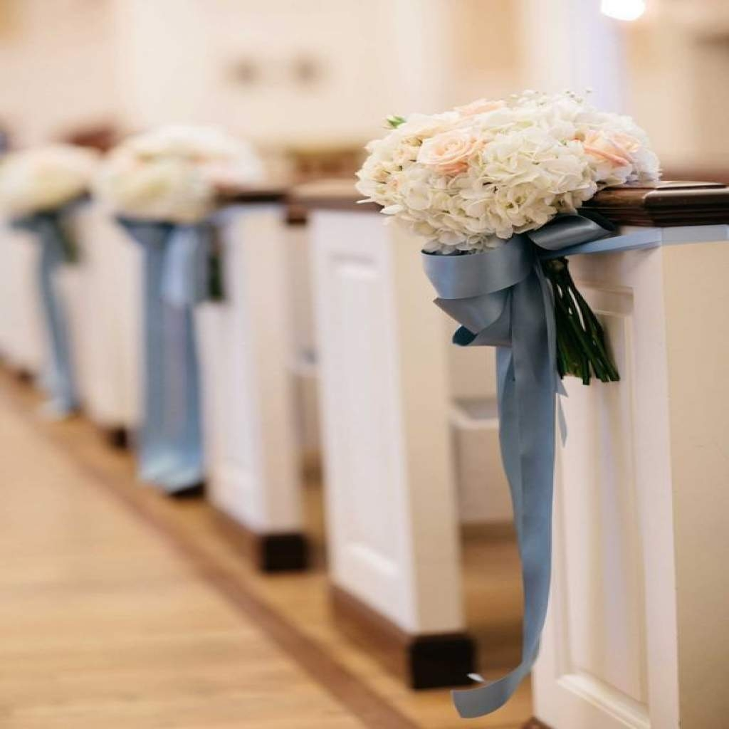 Pew Decorations For Weddings 21 Stunning Church Wedding Aisle Decoration Ideas To Steal