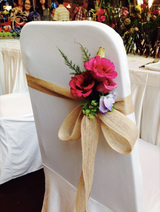 Pew Decorations For Weddings Wedding Chairpew Decorations Wed10 Floral Garage Singapore