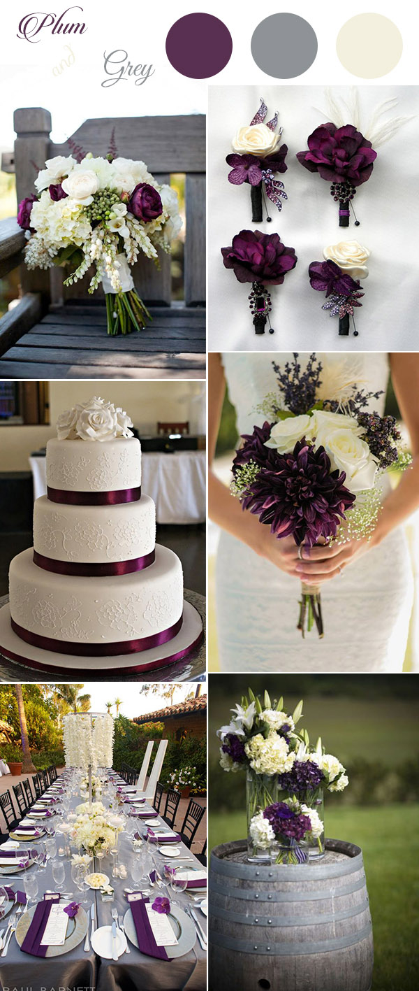 Plum Wedding Decorations Get Inspired These Awesome Plum Purple Wedding Color Ideas