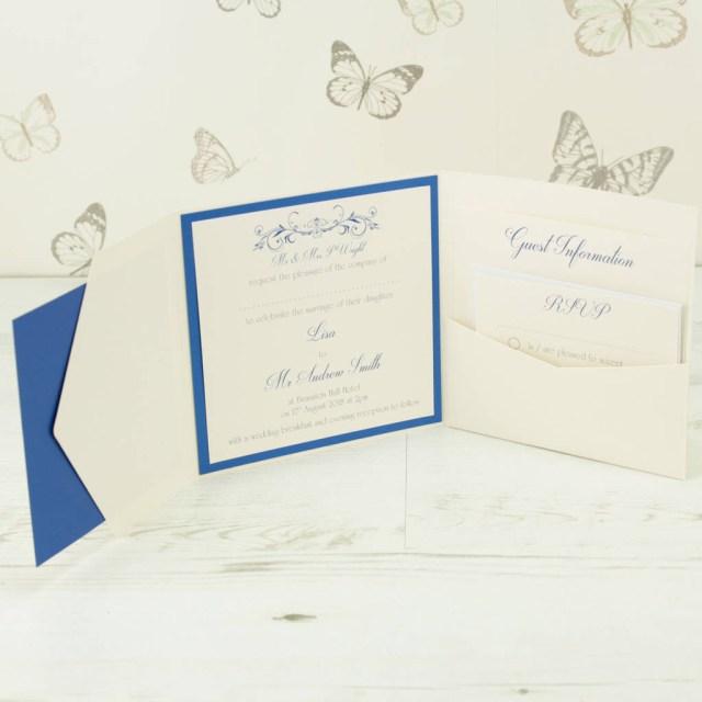 Pocketfold Wedding Invitations Lucy Pocketfold Wedding Invitation Dreams To Reality Design Ltd