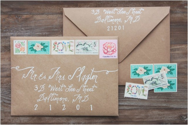 Postage For Wedding Invitations Wedding Invitation Stamp Suite Rsvp And Etsy Best For Dress