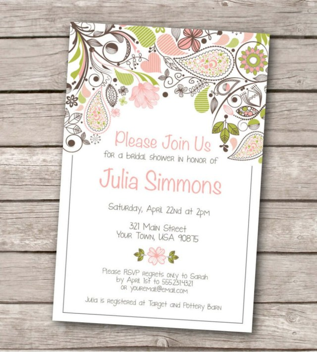 Printable Wedding Invitations Templates 24 Printable Wedding Invitations Cafecanon