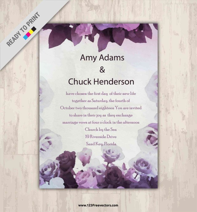 Printable Wedding Invitations Templates Blank Wedding Invitation Templates Free Download Nevsekapookco