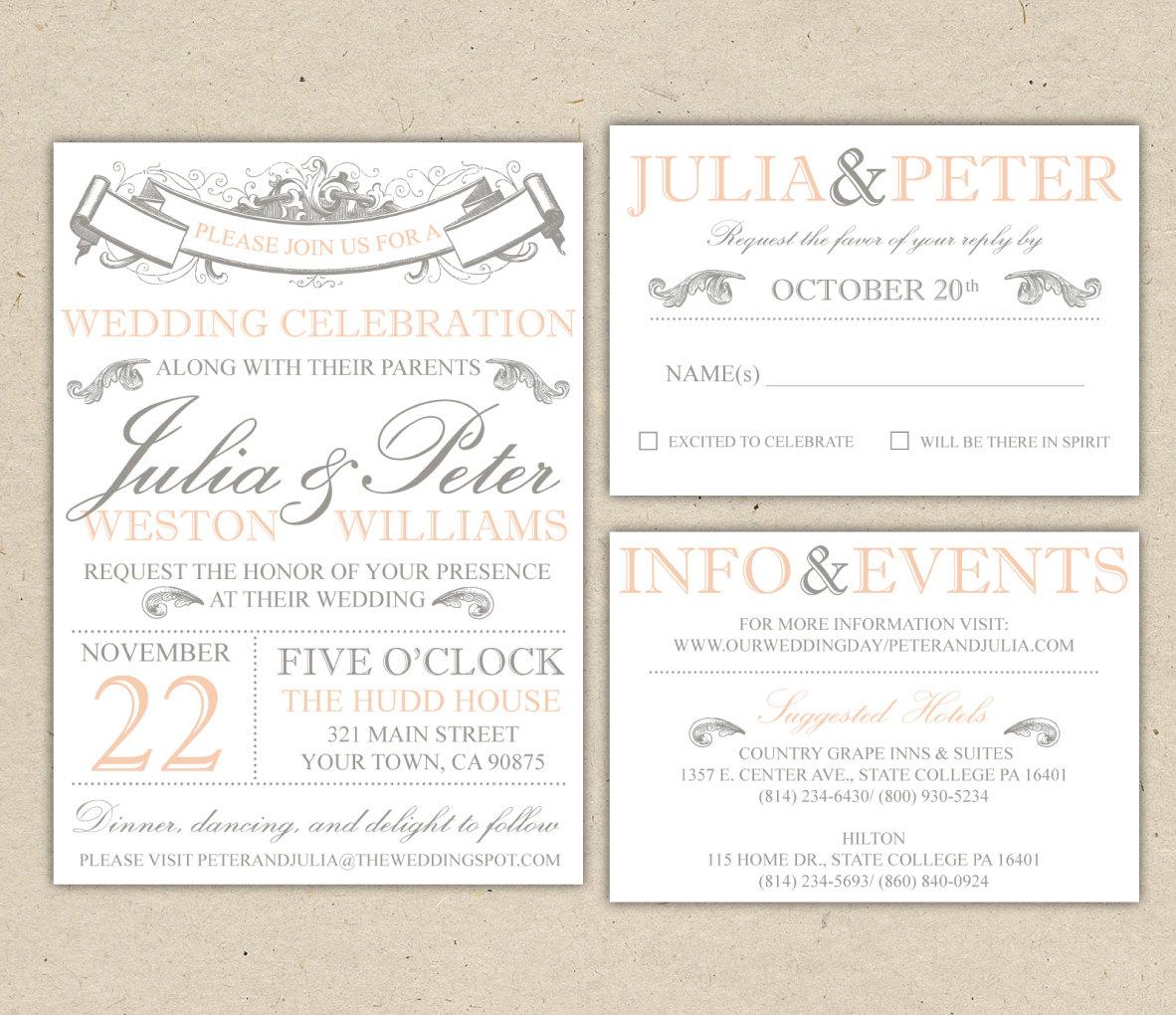 Printable Wedding Invitations Templates Free Wedding Invitation Templates For Word Marina Gallery Fine Art