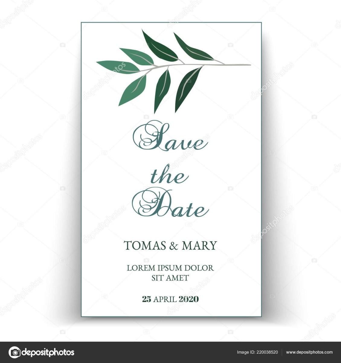 Printable Wedding Invitations Templates Greenery Wedding Invitation Template Printable Wedding Invites