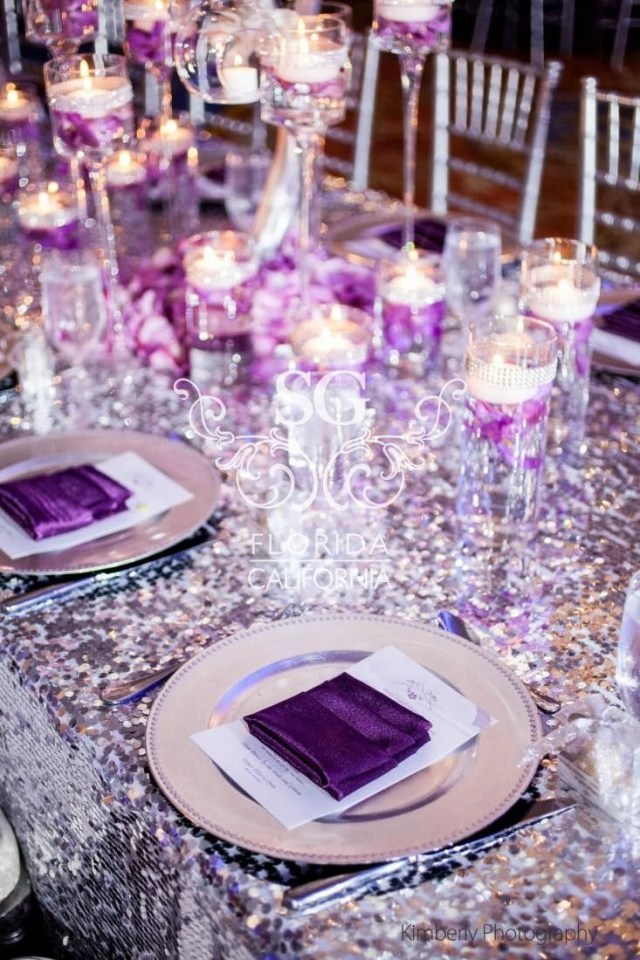 Purple And Silver Wedding Decorations Plum And Silver Wedding Decorations Purple And Silver Wedding