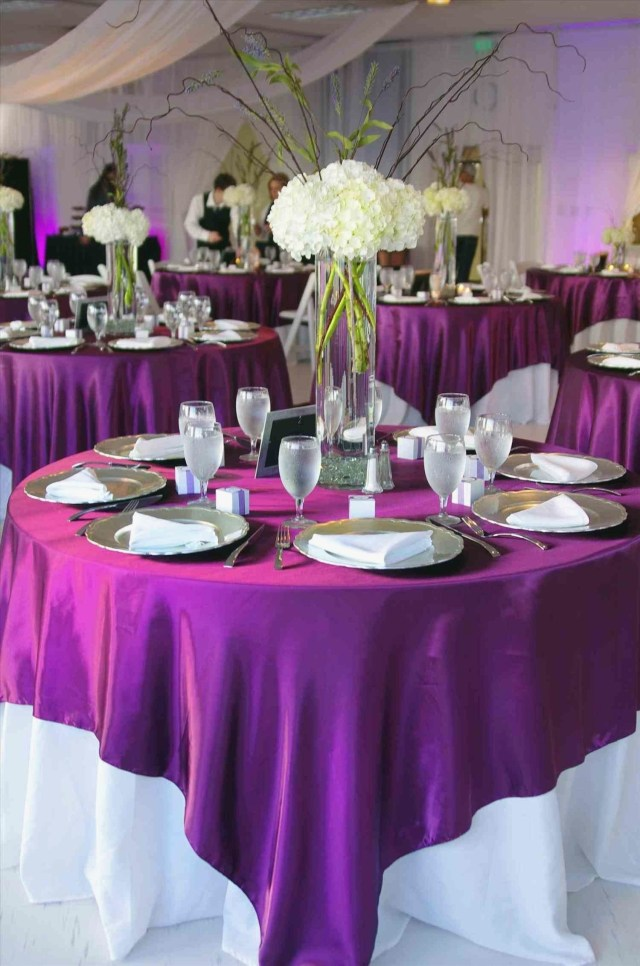Purple And Silver Wedding Decorations Purple And Silver Wedding Decorations Nucno