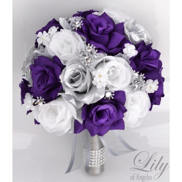 Purple And Silver Wedding Decorations Purple Silver And White Wedding Decor New Purple Weddingations Theme