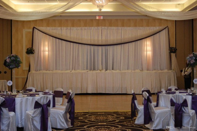 Red And Brown Wedding Decorations Dhl Wedding Curtain Backdrops Wedding Stage Decorations Backdrop