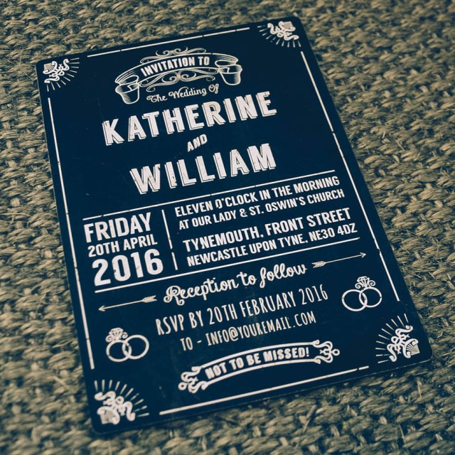 Retro Wedding Invitations Chalkboard Vintage Wedding Invitation Magik Moments
