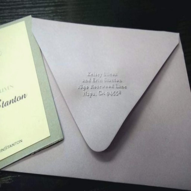 Return Address For Wedding Invitations Return Address Wedding Invitations Wedding Themes Ideas Embossed
