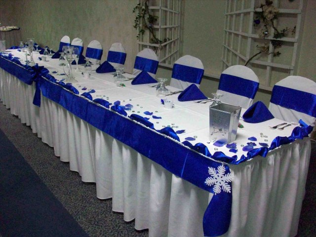 Royal Blue And Silver Wedding Decorations Decorations Royal Blue Wedding Decorations M Roll 2m Wide Shiny