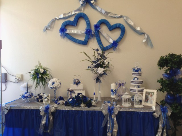 Royal Blue And Silver Wedding Decorations Royal Blue And Silver Wedding Decorations Elegant Royal Blue Silver