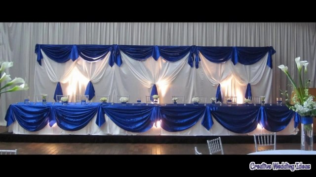 Royal Blue And Silver Wedding Decorations Wedding Decoration Royal Blue Youtube