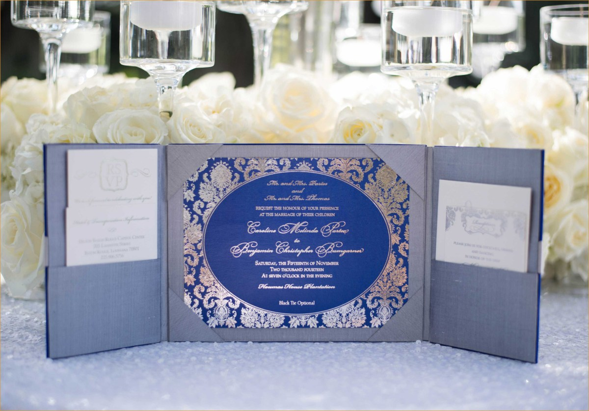 Royal Blue And Silver Wedding Invitations New Royal Blue And Silver Wedding Invitation Templates Top Wedding