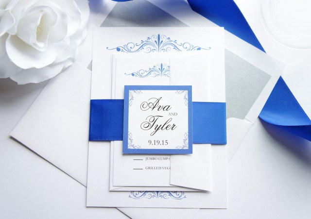 Royal Blue Wedding Invitations 12 Inspirational Royal Blue Wedding Invitations Wedding