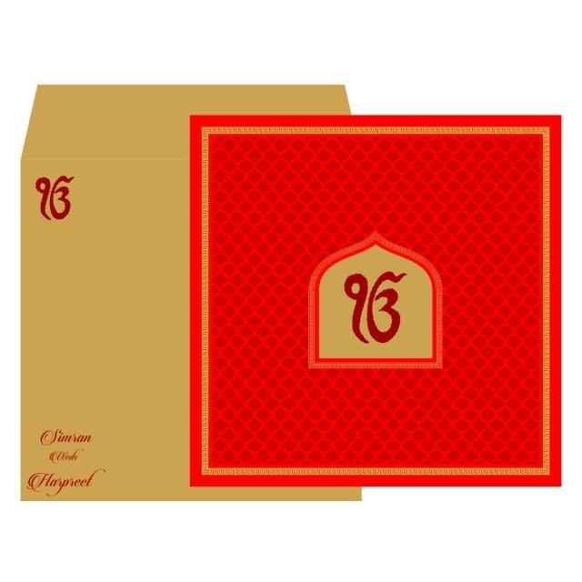 Sikh Wedding Invitations Sikh Wedding Cards