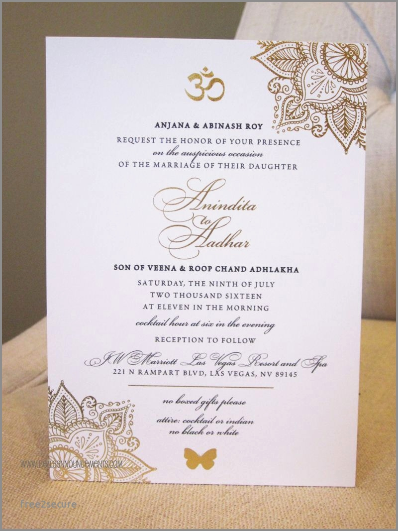 Sikh Wedding Invitations Sikh Wedding Invitation Wording Samples Beautiful Indian Wedding