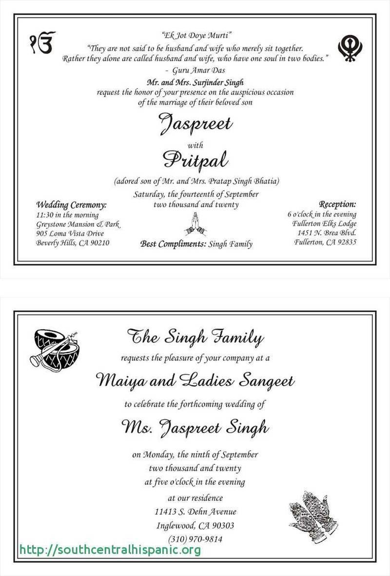 Sikh Wedding Invitations Wording For Sikh Wedding Invitations Nemetasaufgegabelt