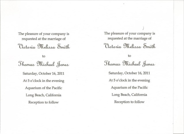 Simple Wedding Invitation Diy Wedding Invitations Simple Wedding Invitations Using Microsoft Word