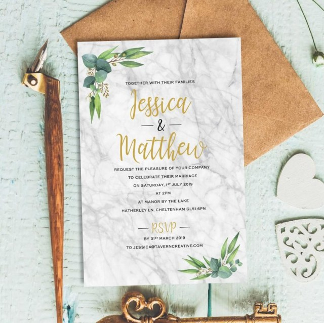 Simple Wedding Invitation Rustic Wedding Invitation Wedding Reception Invitation Postcard